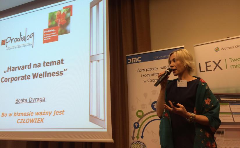 Beata Dyraga na konferencjach Perspektywy HR 2016